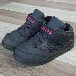 Youth Air Jordan's Velcro Low Tops